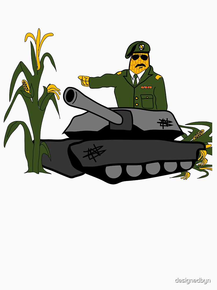 Corn Colonel - Corn Kernel - US Army by designedbyn