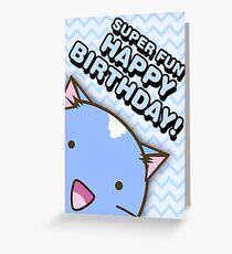 Fuzzballs Happy Birthday Cat Greeting Card