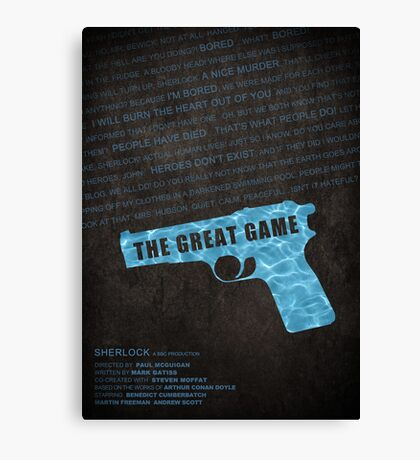 The Great Game fan poster Canvas Print