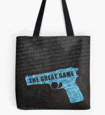 The Great Game fan poster Tote Bag