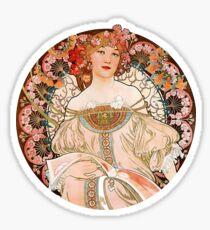 Alphonse Mucha: Art Nouveau Beauty Sticker