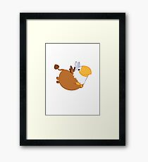 Dango. Framed Print