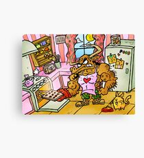 Baking With Bob Canvas Print