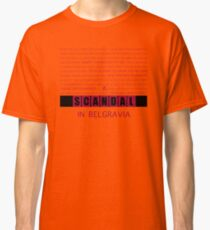 A Scandal in Belgravia fan poster Classic T-Shirt