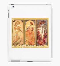 Alphonse Mucha: Art Nouveau Triptych iPad Case/Skin