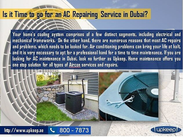Affordable AC Repairing Service in Dubai by upkeep