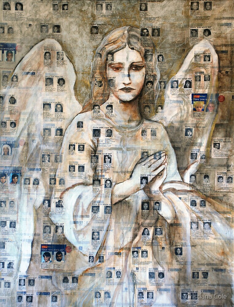 Angel Of The Missing by Cristiana Cole
