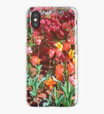 Garden of Tulips and Azaleas  iPhone Case/Skin