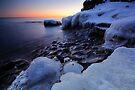 The Frozen Shore, Lake Superior by Michael Treloar