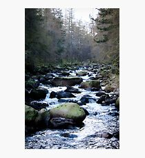 Brook in Ballater Cairngorm Mountains Photographic Print