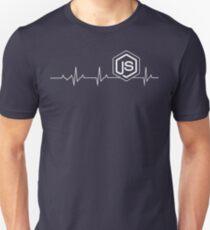 Node.js Heartbeat T-shirt & Hoodie Unisex T-Shirt