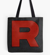 Team Rocket Logo Design Poster Pokemon Original Tote Bag