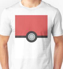 Pokemon Pokeball Minimal Design Poster Unisex T-Shirt