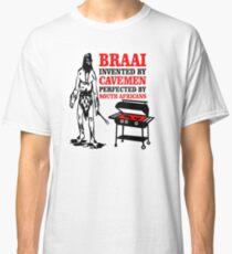BRAAI SOUTH AFRICAN CAVE MAN Classic T-Shirt