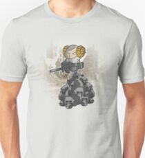 sheep with a machine gun Unisex T-Shirt