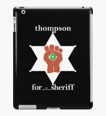 Hunter S Thompson, Gonzo Fist  iPad Case/Skin