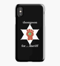 Hunter S Thompson, Gonzo Fist  iPhone Case