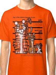 Bigness of cats top Classic T-Shirt