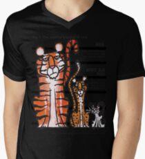 Bigness of cats top Mens V-Neck T-Shirt