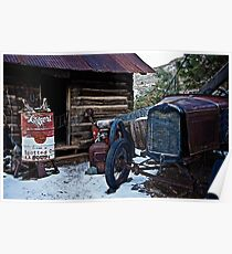 Model A Ford and Owl Soup Poster