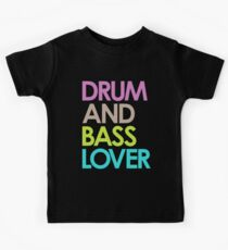 Drum & Bass Lover Kids Tee