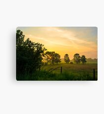 Summer in Canada Canvas Print