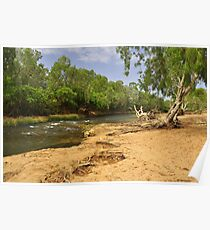 The Katherine River Reserve Poster