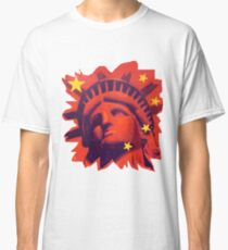 Red Liberty (cut out) Classic T-Shirt