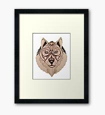 Lupus Framed Print