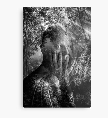 Oh the stories I could tell...... Metal Print
