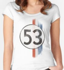 The Number Of The Bug Women's Fitted Scoop T-Shirt