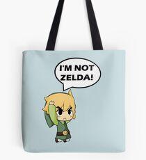 Je ne suis pas Zelda Tote bag