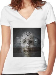 No Title 122 T-Shirt Women's Fitted V-Neck T-Shirt