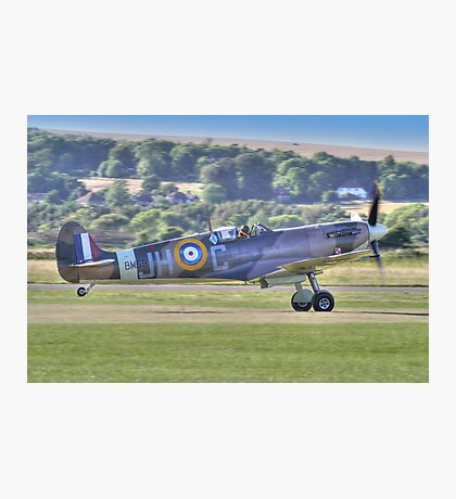 Spitfire VB Scramble - Shoreham Airshow 2013 Photographic Print