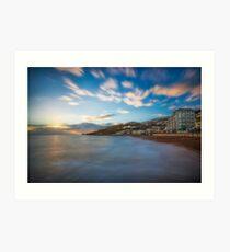 Ventnor Sun Sea and Surf Art Print