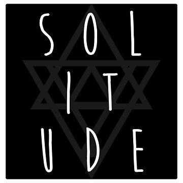 Solitude - omen - black/white by PatrickNewton