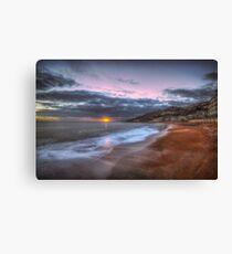 Ventnor Beach sunset Canvas Print