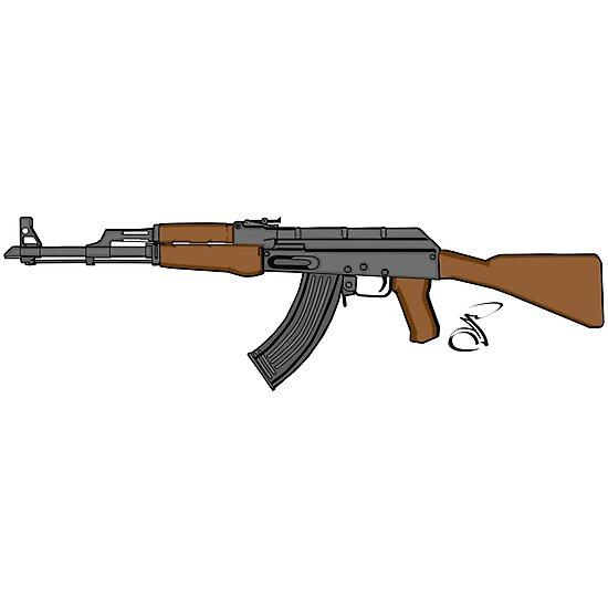 Ak 47 Coloured by salimgor