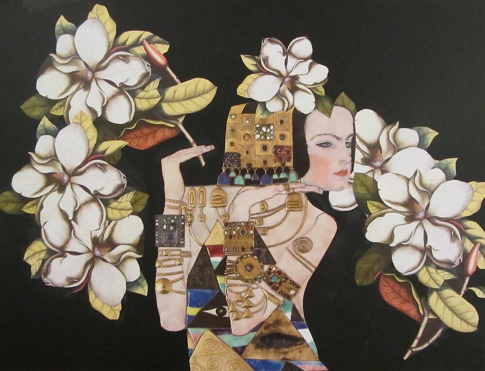 Magnolia by Kanchan Mahon
