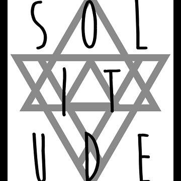 Solitude - omen - black by PatrickNewton