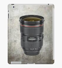 Lens for photographer iPad Case/Skin