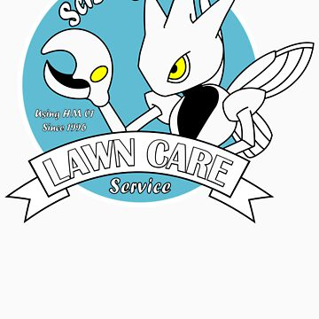 Scizor Lawn Care Red Shirt by RRanger