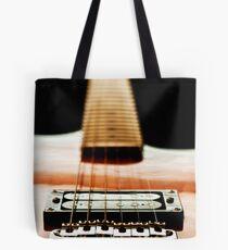 Guitar Strings overlay Tote Bag