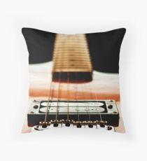 Guitar Strings overlay Throw Pillow
