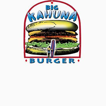 big kahuna burger pulp by nicethreads