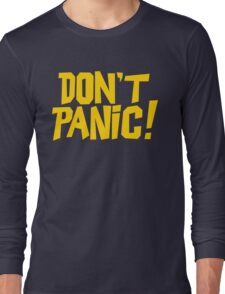 The Hitchhikers Guide to the Galaxy - Don't Panic Long Sleeve T-Shirt