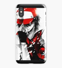 Pokemon Trainer Red iPhone Case