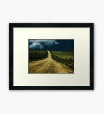 Ribbon of Road Framed Print