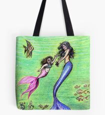Mermommy Tote Bag