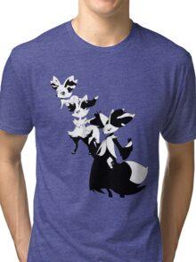 Fennekin Evolution Line Tri-blend T-Shirt